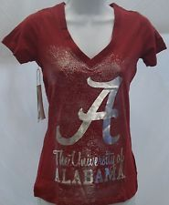 Alabama Crimson Tide Ladies Short Sleeve T-Shirt Campus Couture