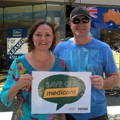 Visiting Townsville from NSW ... Medicare sets no borders between you and your healthcare. Unlike Turnbull who wants to set one at your credit rating. Pay with Medicare card not credit card. Oh yes and we were polite enough to offer our commiserations over the next State of Origin. #Inplast #ausunions