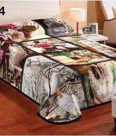Tepla deka hnedej farby s roznymi vzormi Table, Furniture, Home Decor, Homemade Home Decor, Mesas, Home Furnishings, Desk, Decoration Home, Tabletop