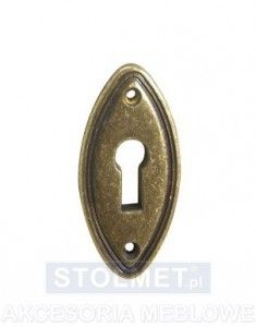 E-290 - Szyld do klucz - WYPRZEDAŻ -47% KOLOR CZARNY NIKIEL