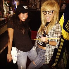 Wayne and Garth Costume for Halloween/still think it'd be hilarious lol