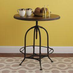 Industrial Rustic Bistro Table