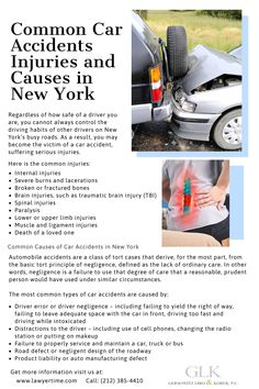 Tort Cases, Car Accident Injuries, Bone Fracture, Ligament Injury, Accident Attorney, Traumatic Brain Injury, Serious Injury, Death