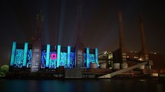 Projection onto the original Volkswagen factory in Wolfsburgh Germany. Part of the Autostadt 10 year anniversary celebrations. Taking this massive 150metre canvas and turning it into a visually engaging audio visual narrative. Moving through evolution, expression, emotion, ease, essence and excitement, communicating the history, values and process of VAG and the Autostadt.