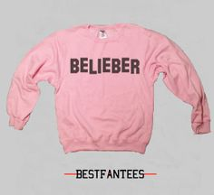 Belieber Justin Bieber Sweatshirt or tshirt. This sweater is on Etsy