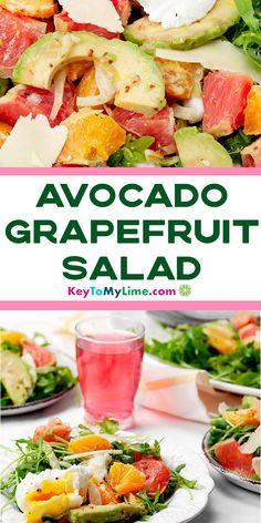 Vegan Recipes Beginner, Healthy Recipes On A Budget, Low Carb Dinner Recipes, Vegetarian Recipes Dinner, Spicy Recipes, Vegetarian Food, Appetizer Recipes, Salad Recipes, Grapefruit Recipes