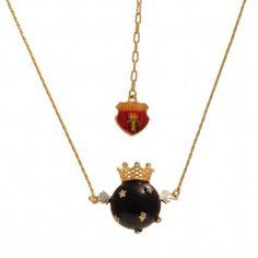 Les Néréides Fantachic Necklace Little hanging Frog  A fantastic collection for its medieval inspirations and a chic collection for its high jewellery design.