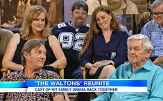'The Waltons' reunite: Good morning, John-Boy! -- VIDEO