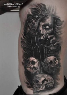 Done by Vainius Anomaly #Tattoos - psyk02mikmak07 - Google+