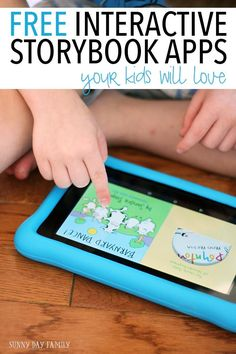 FREE interactive story apps for kids! Make the most of screen time with these interactive books from authors you love like Sandra Boynton and Mercer Mayer. And the best part is they are totally free! (ad)