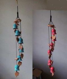 Handmade Clay Wind Chimes   Clay Wind Chimes   Best Decoration Ideas