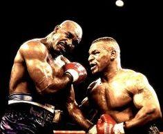 Mike Tyson y Evander Holyfield
