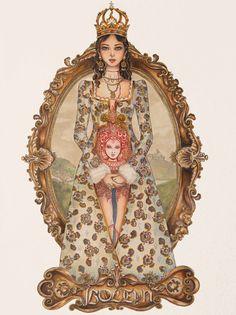 The love of kings: Anne Boleyn by Astera-T.deviantart.com on @deviantART