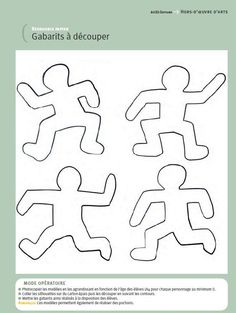 figures in movement examples - Keith Haring