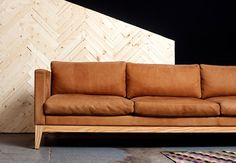 Item: Classic Sofa/ Timber Room: Ground floor living Colour: choose from leather instore Size: 2400 x 800 x 800 Cost: $8390 in mid range leather From: Koskela See: Sydney (they have a fabric example instore) Lead time: 6 weeks