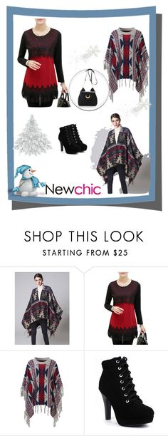 """Newchic6"" by merisa-imsirovic ❤ liked on Polyvore featuring plus size clothing"