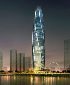 UA studio 7 references rose bud in curving fushun high-rise, china