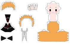 Ichigo Kurosaki Papercraft by 0DJPoppy0