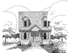 Elevation of Bungalow   House Plan 72718