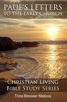 I've been reading the first two books in the new Christian Living Bible Study Series by my friend, Trina Matous, and they're fabulous!