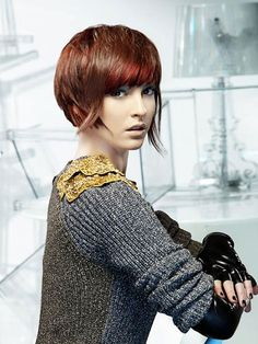 2013 short hair color trends