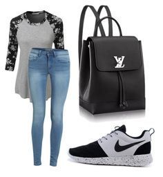 """Untitled #42"" by kristyna-r on Polyvore featuring LE3NO"