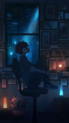 Anime Backgrounds Wallpapers, Anime Scenery Wallpaper, Animes Wallpapers, Cute Wallpapers, Sky Anime, Anime City, Dark Anime Art, Aesthetic Art, Kawaii Anime