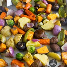 How To Make Roasted Vegetables