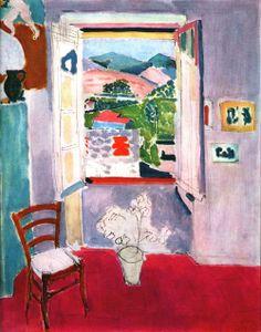 Matisse Open Window at Collioure 1910