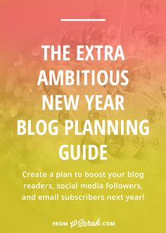 Before we get started with today's post I want to invite you to join the Content Planning Challenge! December 5 – 9 we'll be filling in your entire blog content calendar for 2017.…