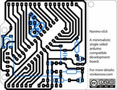 This is the perfect chance to get into PCB-etching. Johan designed a single sided Arduino compatible board. That you need to etch yourself.