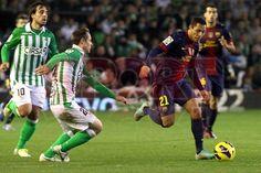 Adriano, FC Barcelona |  Betis, 1 - Barça, 2. [09.12.12]