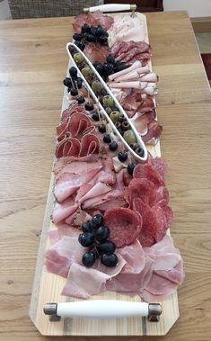 Wurstplatte # Food and Drink menu board Plateau Charcuterie, Charcuterie Plate, Charcuterie And Cheese Board, Wooden Serving Platters, Orange Sanguine, Whats Gaby Cooking, Half Baked Harvest, Cheese Platters, Food Platters