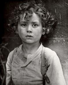 Paris gamin c. 1918; photo by Lewis Hine