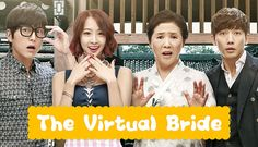The Virtual Bride- 2015 Korean drama. This gets pretty good after the first couple of episodes! Oooohh the feeeelssss!!