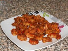 طريقة جديدة لعمل الجمبري في الفرن - YouTube Tandoori Chicken, Shrimp, Make It Yourself, Ethnic Recipes, Food, Essen, Meals, Yemek, Eten