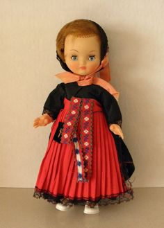 "Vintage French Gudrun Formby French Doll ""Bella"" With Original Tag"