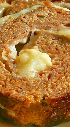Classic Sicilian Meat Roll with Prosciutto & Mozzarella More
