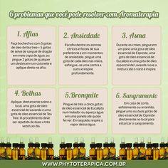 6 problemas que você pode resolver com Aromaterapia