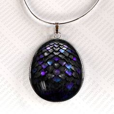 Colgante del huevo de dragón mágico, joyería, collar de dragón, inspirado en juego de tronos, collar de huevo de dragón, Dragon, planear, re...