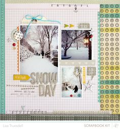 snow day // @Studio Calico block party kit + add-ons