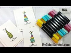 How to color with Blendabilities  Stampin' Up!