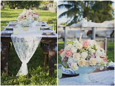 Country Chic Wedding Inspiration - see more at http://fabyoubliss.com