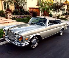 Classic Car News – Classic Car News Pics And Videos From Around The World Mercedes Benz Coupe, Mercedes Benz Autos, Old Mercedes, Classic Mercedes, Mercedes Convertible, M Benz, Mercedez Benz, Cabriolet, Retro Cars