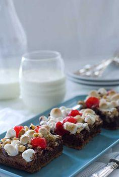 Gluten Free Cherry S'More Brownies   Gluten Free Recipes   Blog   Simply Gluten Free