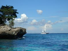 Paradise was always over there, a day's sail away.  Nusa Lembongan, Bali
