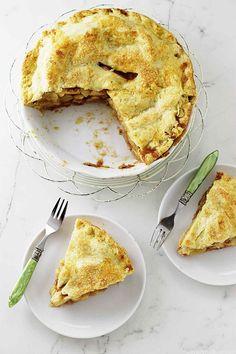 Apple Pie with Einkorn Crust from Savor the Best | Einkorn.com