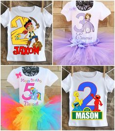 Twistin Twirlin Tutus Custom Party Apparel 15% off on KarasPartyIdeas.com #partyclothes #tutus #twistintwirlintutus #partyapparel