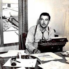 W. Somerset Maugham writing