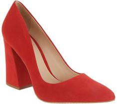 0623507f0bf Vince Camuto Suede Pointy Toe Block Heel Pumps - Talise - A310632 Vince  Camuto Shoes